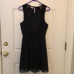 Maurice's Black and White Dress
